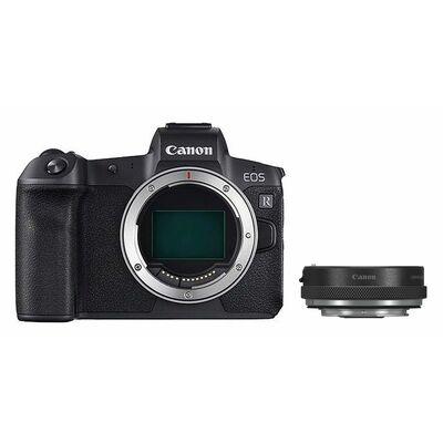 Für weitere Info hier klicken. Artikel: Canon EOS R Gehäuse + Canon Objektivadapter (mit Steuerungsring )