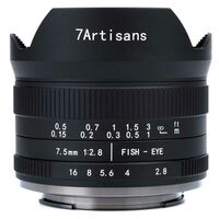 Für weitere Info hier klicken. Artikel: 7Artisans 7,5mm f/2,8 II Fisheye Canon EF-M