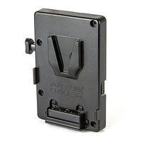 Für weitere Info hier klicken. Artikel: Anton Bauer Universal V-Mount battery bracket with 10amp fuse and 1 PTAP