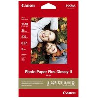 Für weitere Info hier klicken. Artikel: Canon Papier PP-201 13x18 cm 20 Blatt