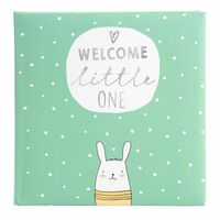Für weitere Info hier klicken. Artikel: goldbuch Babyalbum little one 60 weiße Seiten mint 250x250x40 mm