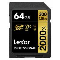 Für weitere Info hier klicken. Artikel: Lexar SDXC Professional UHS-II 2000x 64GB