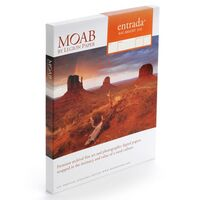 Für weitere Info hier klicken. Artikel: Moab Entrada Rag Bright 300 25 Blatt 13 x 19