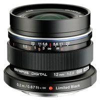 Für weitere Info hier klicken. Artikel: Olympus M.Zuiko AF 12mm f/2,0 ED schwarz Micro Four Thirds