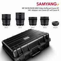Für weitere Info hier klicken. Artikel: Samyang MF 24/35/50/85 MK2 VDSLR Canon EF an R Set