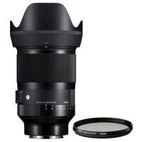 Für weitere Info hier klicken. Artikel: Sigma AF 35mm f/1,2 DG DN ART + Sigma UV Filter WR Sony FE-Mount
