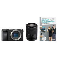Für weitere Info hier klicken. Artikel: Sony Alpha 6400 (ILCE-6400) + SEL 18-135mm OSS + Buch Einfach fotografieren lernen