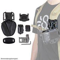 Für weitere Info hier klicken. Artikel: Spider X Backpacker Kit Holster Rucksackadapter und Kameraplatte
