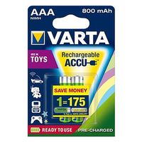 Für weitere Info hier klicken. Artikel: Varta Akku 56783 Toys Accu Micro 2er