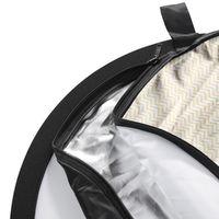 Für weitere Info hier klicken. Artikel: Walimex 5in1 Faltreflektor Set wavy 107cm