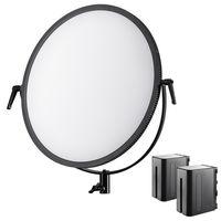 Für weitere Info hier klicken. Artikel: Walimex pro Soft LED 700 Round Bi Color Set1