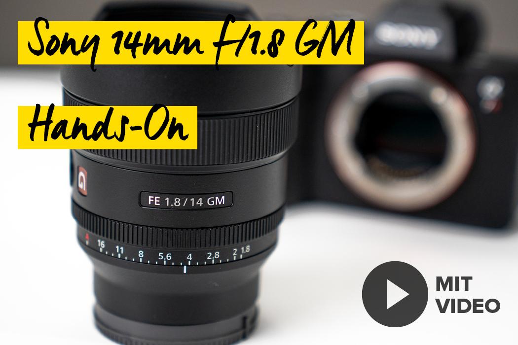 Sony 14mm G-Master